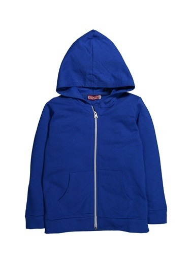 Zeyland Kapüşonlu Fermuarlı Sweatshirt (4-14yaş) Kapüşonlu Fermuarlı Sweatshirt (4-14yaş) Mavi